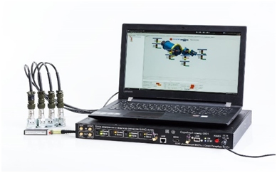 Основные элементы системы СМД-4 – датчики, блоки БИАС и внешние компьютеры с программами настройки системы