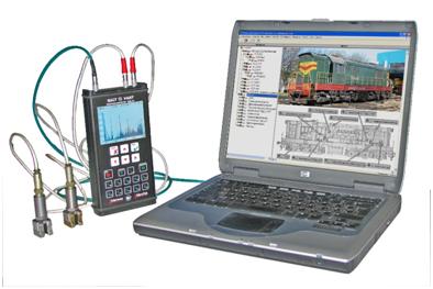 Переносная система вибрационной диагностики вращающегося оборудования